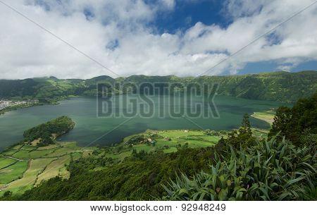 View Of Lagoa Azul, Sao Miguel, Azores