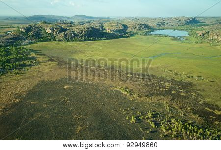 Aerial View Of Kakadu National Park In Northern Territory, Australia