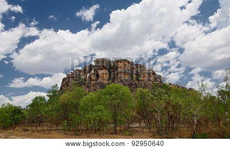 Ridge In Northern Territory, Australia
