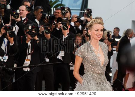 Naomi Watts attends the opening ceremony and premiere of La Tete Haute ( Standing Tall ) during the 68th annual Cannes Film Festival on May 13, 2015 in Cannes, France.