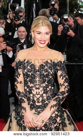Hofit Golan attends the opening ceremony and premiere of 'La Tete Haute ('Standing Tall') during the 68th annual Cannes Film Festival on May 13, 2015 in Cannes, France.