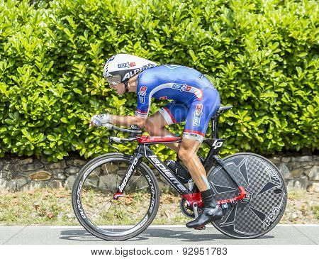 The Cyclist Jeremy Roy - Tour De France 2014