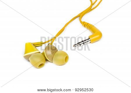 Yellow Earbuds