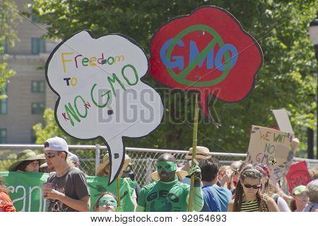 Gmo Protest Signs