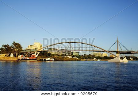 Goodwill Bridge Brisbane Australien