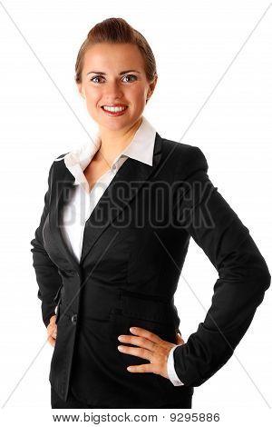 successful modern business woman