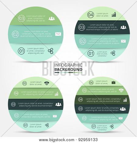 Vector element for infographic.