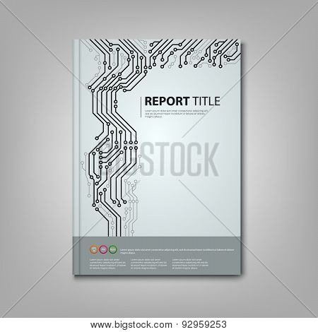 Brochure Book With Printed Circuit Board Template