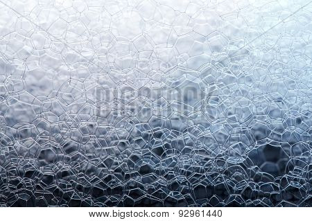 Soap Foam Closeup
