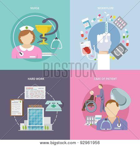 Nurse Flat Set