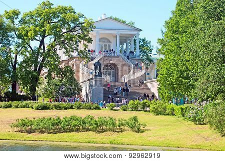 Tsarskoye Selo (Pushkin), Saint-Petersburg, Russia. The Cameron Gallery Ensemble