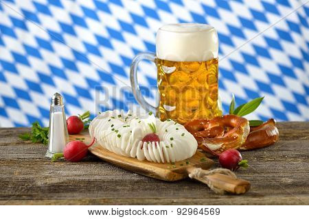 Bavarian meal
