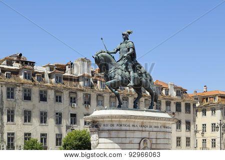 Statue Of Dom Joao I