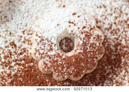 Canestrelli Biscuit With Sugar And Cocoa