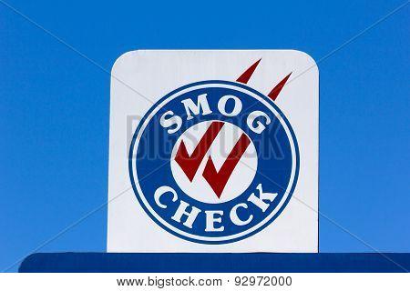 Smog Check Sign