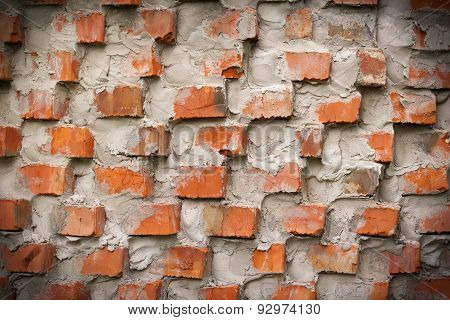 red brick wall, abstrack background template