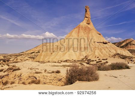 Bardenas Reales desert in spain
