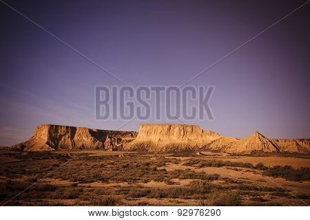 Bardenas Reales desert