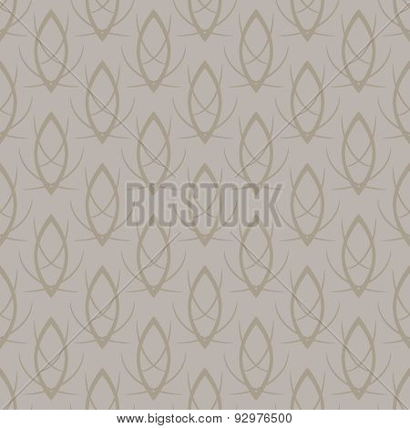 Vector seamless elegant gold pattern background
