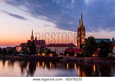 Wroclaw At Night