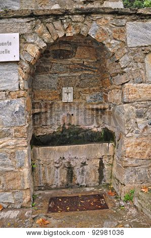 Drinking Fountain at Virgin Mary's House at Ephesus, Turkey