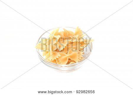 Italian Farfalle pasta