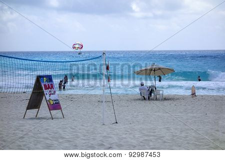 Beach Fun, Cancun, Mexico