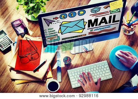 Mail Message Inbox Letter Communication Concept