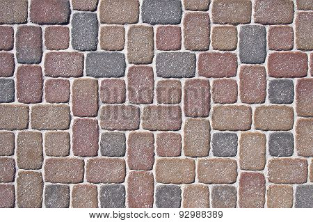 Mosaic Modern Pavement Background