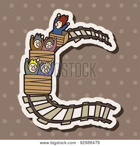 Vroller Coaster Theme Elements