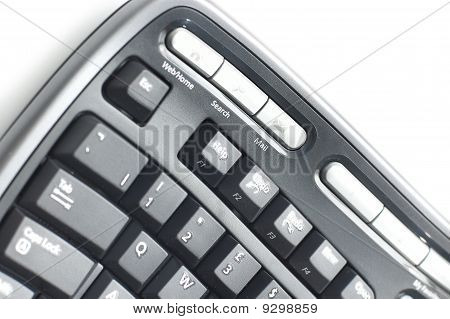 Ergonomic Keyboard  On White