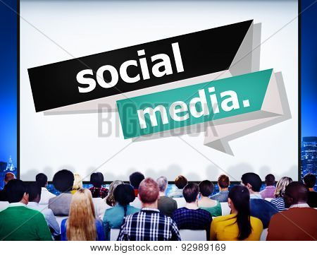 Social Media Communication Internet Network Concept