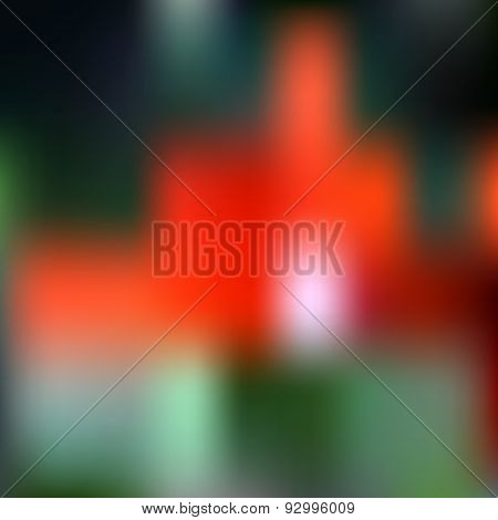Abstract Dark Colorful Blurred Unfocused Bokeh Vector Background Eps10