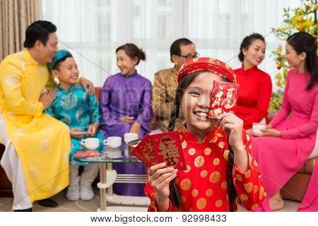 Showing Envelopes For Tet Holiday