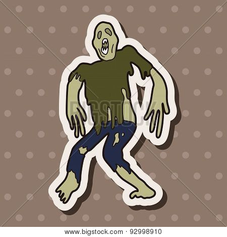 Zombie Theme Elements