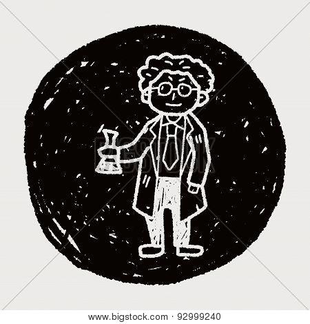 Scientist Doodle