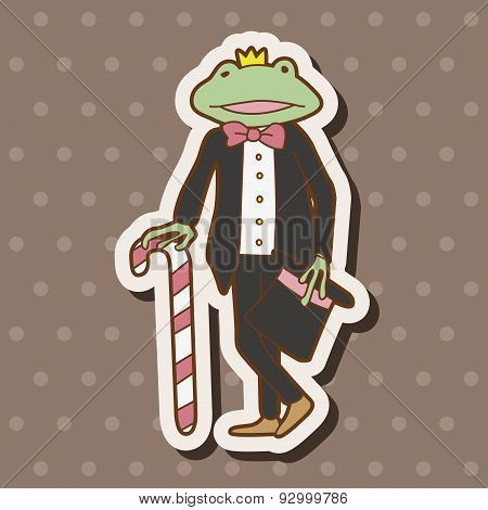 Frog Prince Theme Elements