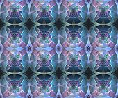 image of computer-generated  - Fractal geometric pattern - JPG