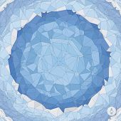 image of floor covering  - Abstract geometric background - JPG
