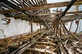 pic of nuclear disaster  - Abandoned Shed In Belarusian village - JPG