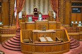 stock photo of house representatives  - View on chamber of the House of Representatives  - JPG
