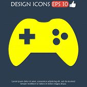 image of controller  - Game controller icon - JPG
