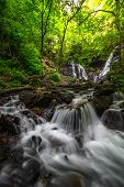 Постер, плакат: Soco Falls near Cherokee North Carolina