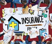pic of policy  - Insurance Policy Help Legal Care Trust Protection Protection Concept - JPG