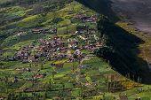 pic of bromo  - Highland Cemoro Lawang village in Bromo Tengger Semeru National Park - JPG