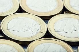 pic of money  - Euro coins - JPG