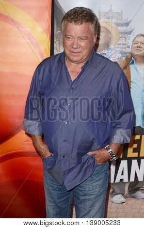 LOS ANGELES - JUL 18:  William Shatner at the