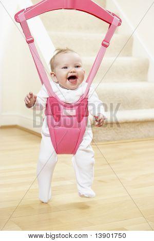 Bebé en la hamaca