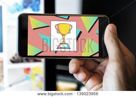 Trophy Competition Accomplishment Award Mission Concept