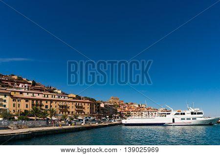 Porto Santo Stefano On Monte Argentario Island, Tuscany Coast